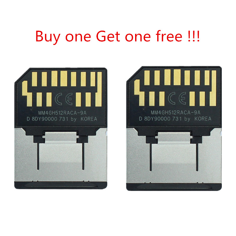 Promotion !!! 1GB RS-MMC Memory MultiMedia Card 13pin Mobile MMC Card. Buy One Get One Free!!!!!