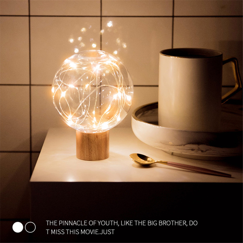 USB Charging LED Night Light 3D Moon Star Night Bedside Lamp for Home Decor Gift HYD88