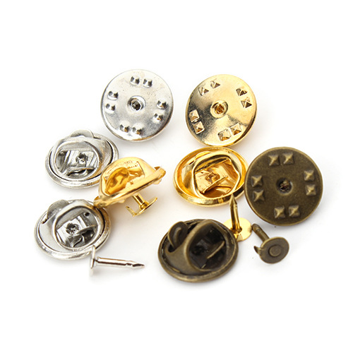 Jewelry Findings & Components Beads & Jewelry Making 200 Pieces Safety Brooch Lock Pvc Rubber Pins Back Button Buckle Clasps For Pin Brooch Base Uniform Badge Jewelry Accessories Traveling