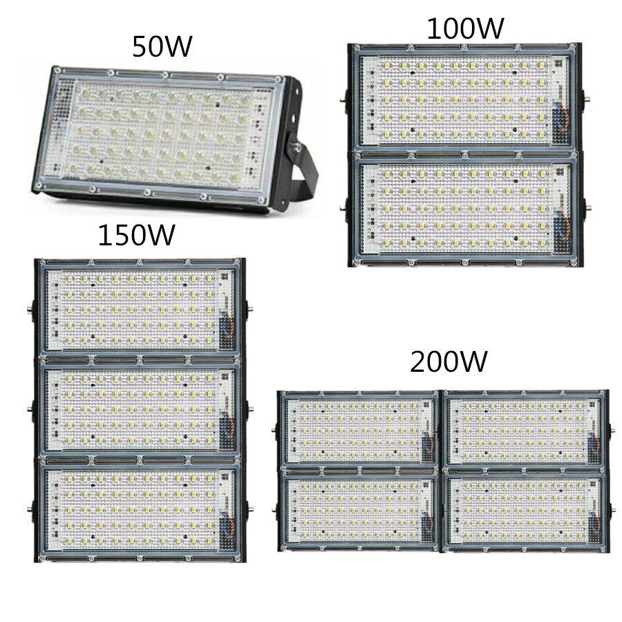 Poder hight LEVOU COB lâmpada de Iodo tungste 50 W 100 W 150 W 200 W Luz de Inundação AC 220 V refletor Refletor de Iluminação de Publicidade Ao Ar Livre