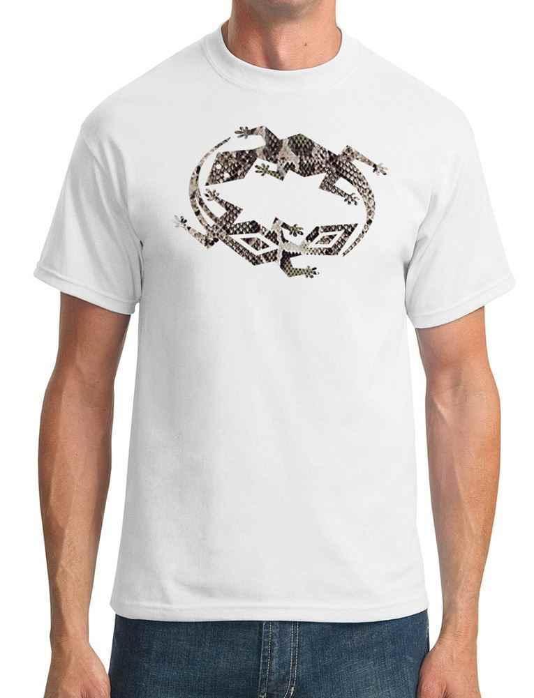 Ящерица и Гекко символ-змеиная кожа-мужская футболка Harajuku топы Футболка модная классическая уникальная бесплатная доставка
