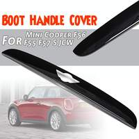 New ABS Material UV Protected Mini Ray Style Tail Gate Boot Handle Cover For Mini for Cooper F56 F55 F57 Cooper S JCW