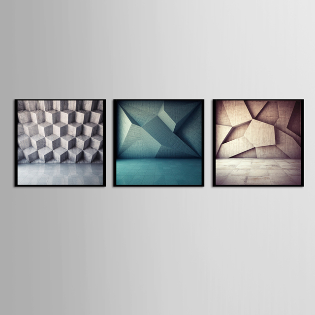 Aliexpress.com : Buy 3 Pieces Wholesale abstract decorative painting ...