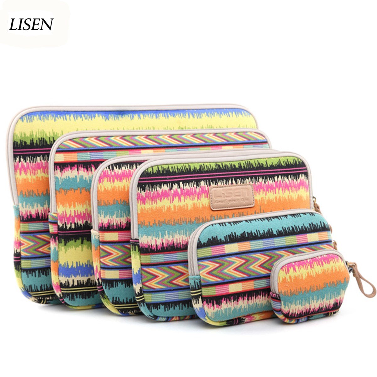 Laptop bag Sleeve Case For Macbook Air Pro Retina 11 11.6 12 13 13.3 15 15.6 Notebook for ipad mini 7.9 ipad air 9.7 table cover