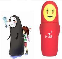1 cái Nhật Bản Studio Ghibli Miyazaki Hayao Anime Spirited Away Không Có Mặt Ly Cách Nhiệt Hai Lớp Thép Không Gỉ Vac Trẻ Em đồ chơi