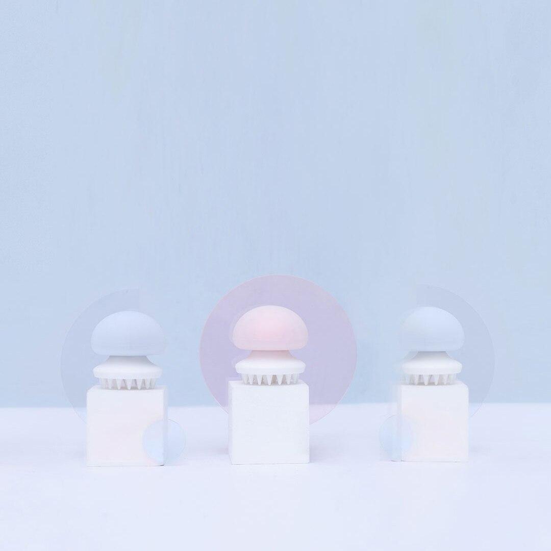 Image 5 - Для наружных осветительных приборов Xiaomi Медузы кошка массажной расчески для волос расческа для волос Антистатическая массажер Расческа для кошек Уход за лошадьми массажер влажной/сухой игрушка для кошки-in Умный пульт управления from Бытовая электроника