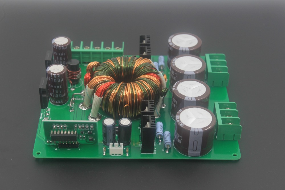 Assembled HP-6 car amplifier with a high-performance step-up board/ 12V step-up switching power supply / 500W DC-DC converter