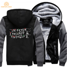 HAMPSON LANQE 2019 New  Hoodies Men Fashion Hoody Spring Winter Warm Jackets Sweatshirts Thick Mens Streetwear