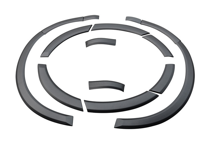 Настройка PP автозапчастей подходит для Volkswagen Touare g автомобиля широкие боковые колеса для бровей 2011 2015 год колеса планки изменение