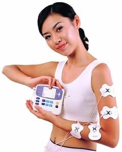 Image 3 - Dual Tens Machine Digital Lage Frequentie Therapeutische Elektrische Spierstimulator Tientallen Stimulator Met Lcd scherm Acupunctuur Pen