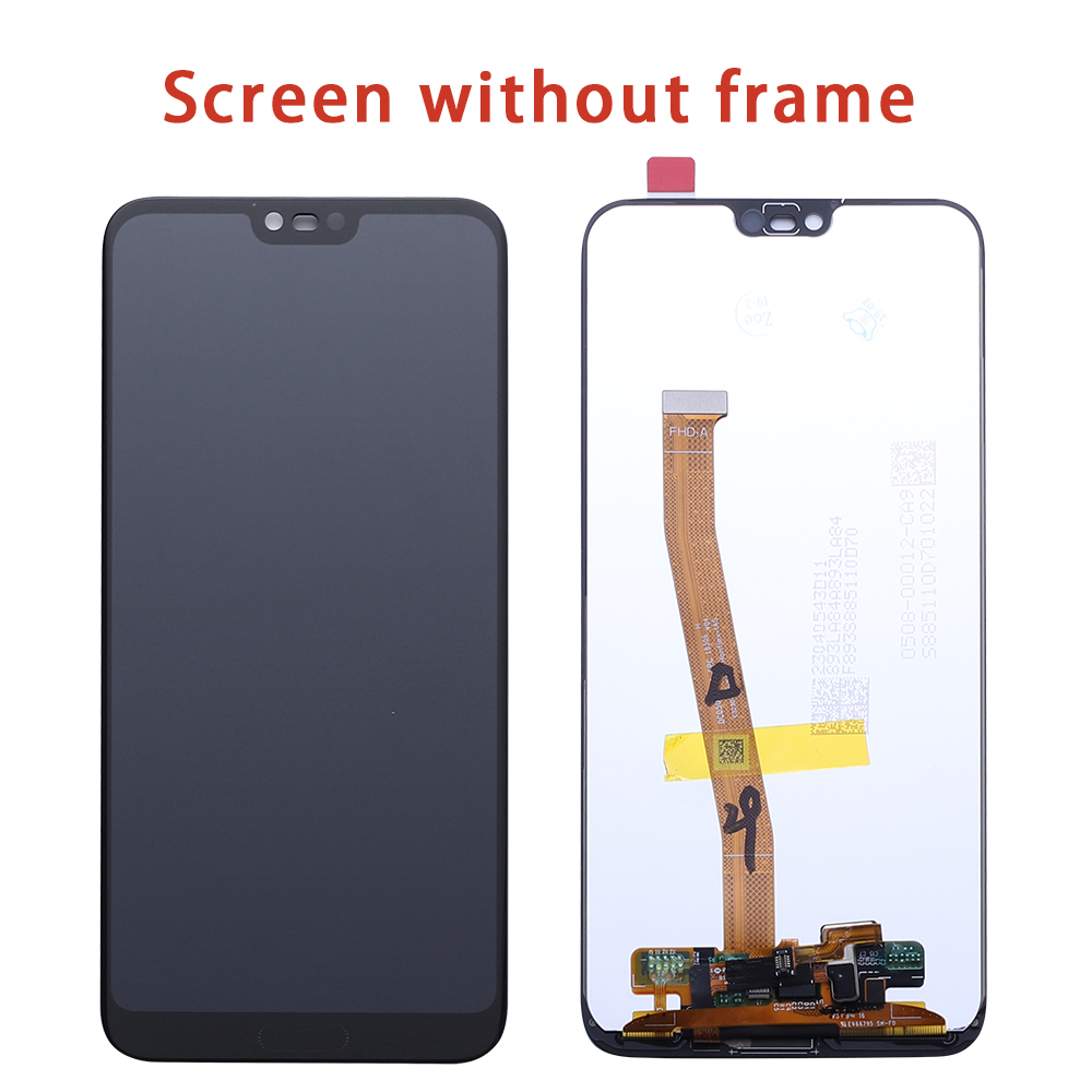 Original Screen For Huawei Honor 10 LCD Display Touch Screen With Frame COL L29 For Huawei Honor 10 LCD Screen With FingerPrint-in Mobile Phone LCD Screens from Cellphones & Telecommunications