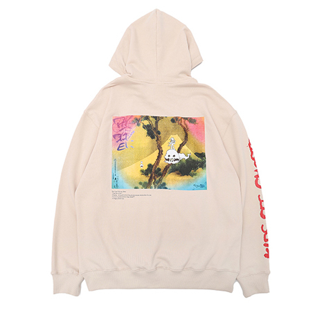 """KiD CuDi Hoodie Sweatshirt Printed  """"KIDS SEE GHOSTS"""" 1"""