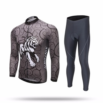 XINTOWN Cycling Sets Long Sleeve Breathable Jersey Clothes Bicicleta Mountain Bike Ropa Ciclismo Bicycle Set Long Sleeve SHIHOU