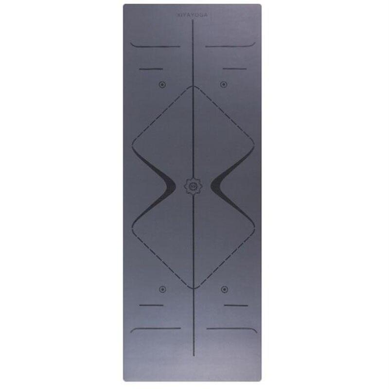 5 MM de goma esteras de Yoga Tapete ejercicio Pilates Mat con línea de posición XYPUYJD008