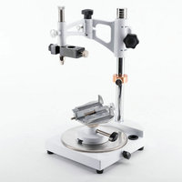 1 unit Square Base Dental Lab Surveyor Visualizer with 7 Tips Fully Adjustable Dental Lab Equipment dental surveyor