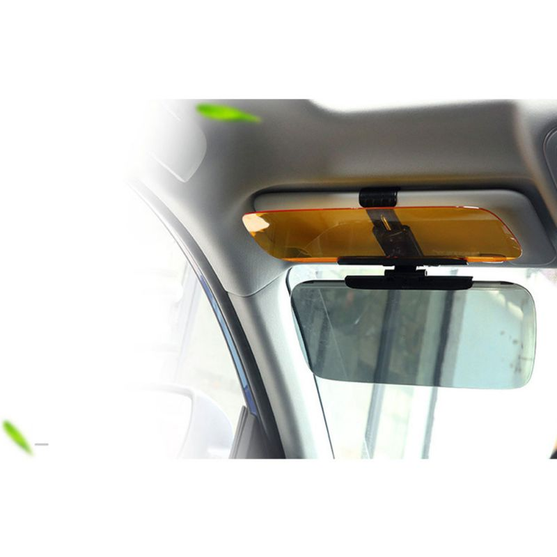 Image 2 - New Car Day Night Sun Visor, Car Sun Visor Extender, Sunshade Guard For Front Seat Driver Passengers-in Driver Goggles from Automobiles & Motorcycles