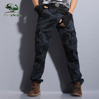 Outdoor Tactical Army Military Black Cargo Pants Men S Sweatpants Sports Trousers Casual Clothing Male Overalls