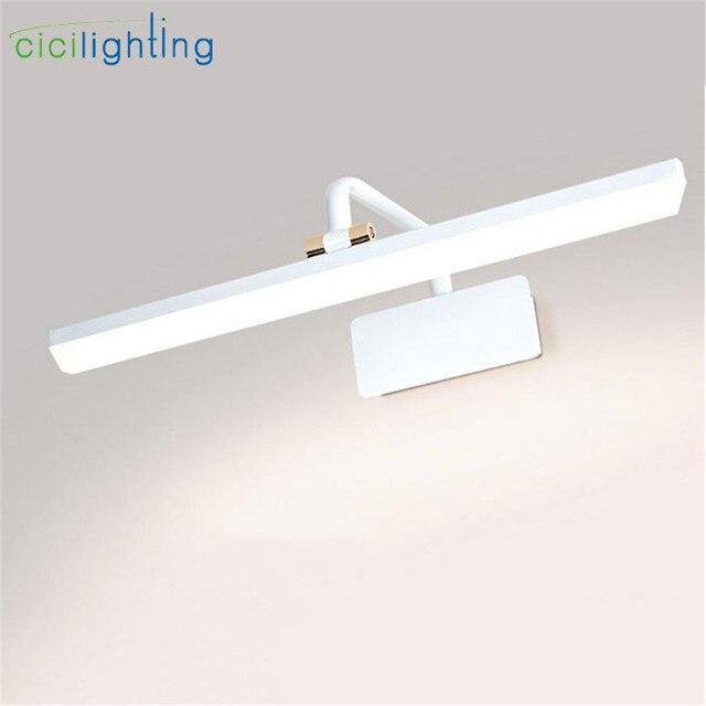 Moderne Natuurlijke Witte LED spiegel licht Amerikaanse Stijl ...