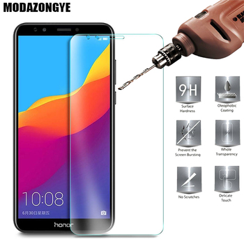 Protector de pantalla para Huawei Y7 primer 2018 de vidrio templado Huawei Y7 primer 2018 LDN-L21 LDN-LX2 Y7Prime 2018 Protector de vidrio película