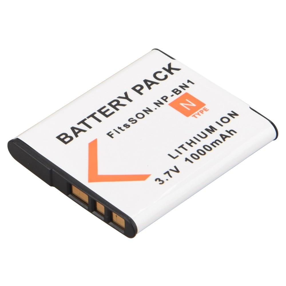 цена на 1Pc 3.7V 1000mAh NP-BN1 NP BN1 NPBN1 Camera Battery Pack for Sony TX9 WX100 TX5 WX5C W620 W630 W670 TX100