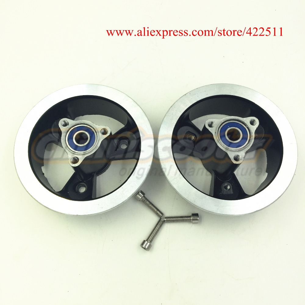 New Scooter Wheel Hubs Aluminium 10inch Rear Wheel Rim for 3.00-4 or 90/90-4 or 4.10-3.50-4 Tire(Scooter Parts & Accessories)