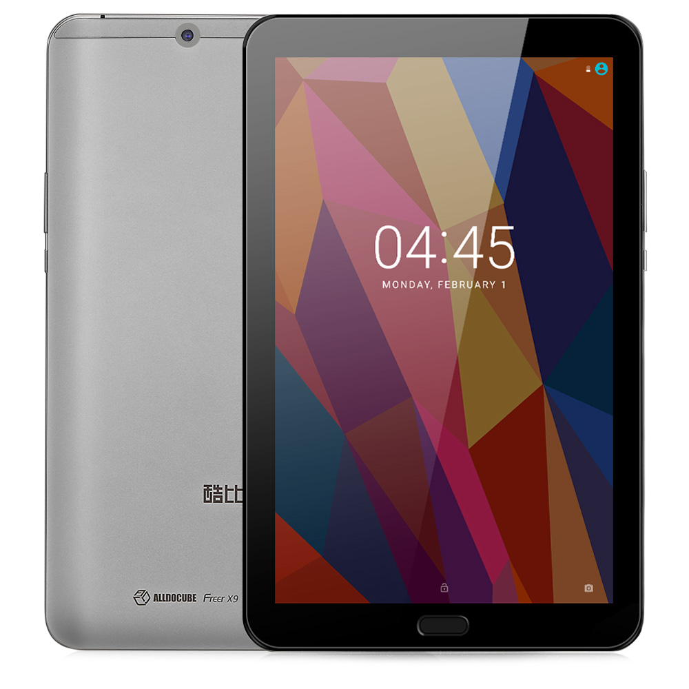 ALLDOCUBE свободнее X9 Tablet PC 8,9 дюймов Android 6,0 MTK8173 4 ядра 2,0 ГГц 4 ГБ Оперативная память 64 ГБ Встроенная память двойной wi Fi OTG 13.0MP сзади Камера
