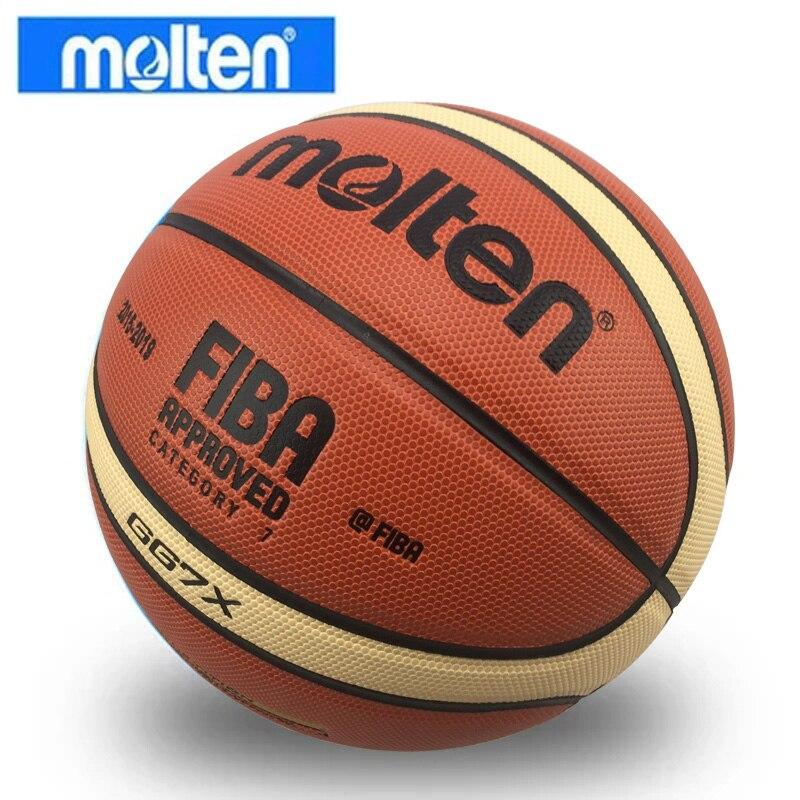 Баскетбольный мяч GL7 из полиуретана, оптом и в розницу, официальный размер, с сетчатым чехлом и иглой, новый бренд, дешево-0