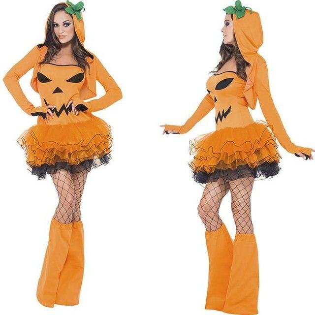 Grimace Pattern Pumpkin Halloween Costumes Witch Skirt Sexy Pumpkin Role Playing Small Demon Halloween Witch Girl  sc 1 st  AliExpress.com & Grimace Pattern Pumpkin Halloween Costumes Witch Skirt Sexy Pumpkin ...