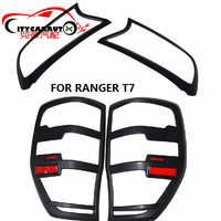 4PCS SET 2015 2017 RANGER Body Cover Accessories RANGER T7 FRONT TAIL LAMP COVER HEADLIGHTS COVER