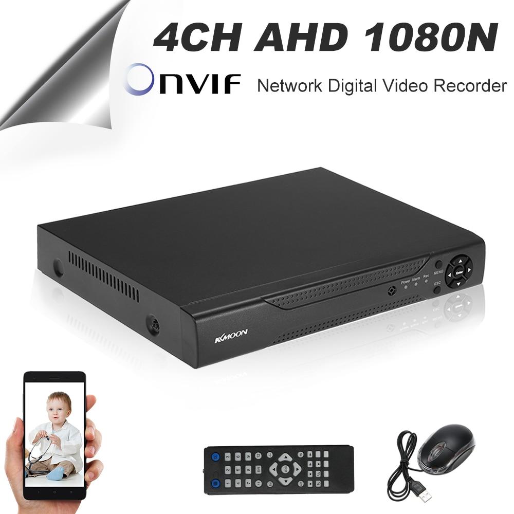 KKmoon 4CH//8CH//16CH 1080P Hybrid AHD DVR 5-in-1 Digital Video Recorder P2P Onvif