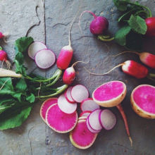 200 +  Watermelon Red Radish Seeds ~healthful