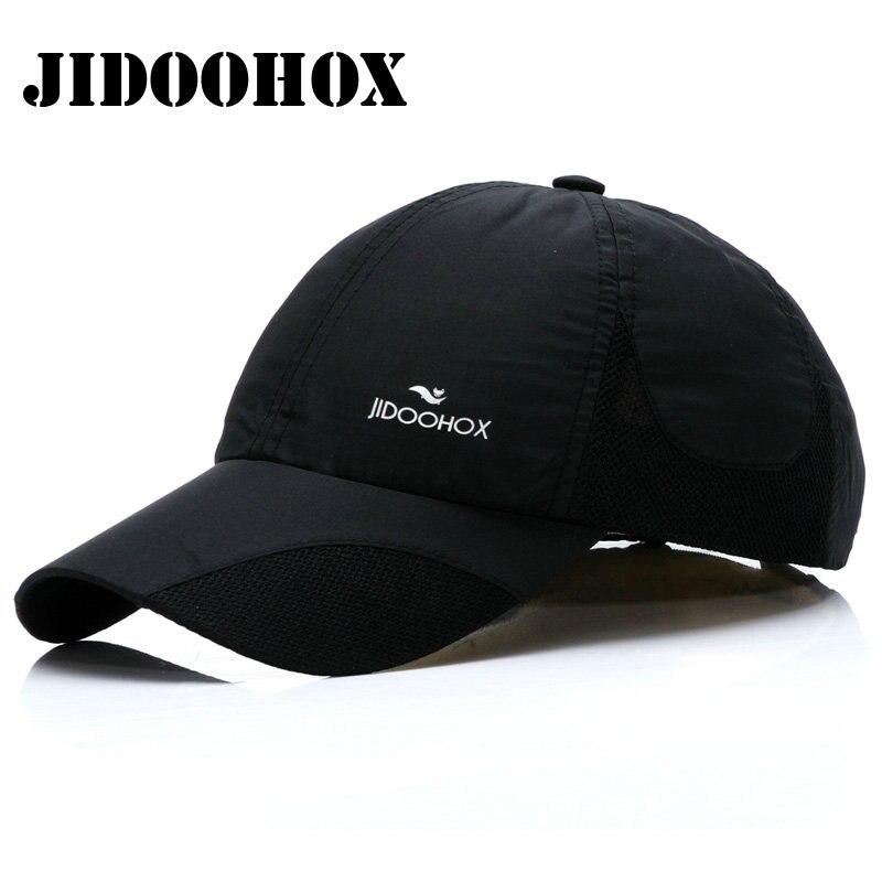 Prix pour [JIDOOHOX] haute Qualité Active Casquette de baseball Pour Homme Femme Absorber La Sueur Séchage rapide Chapeau Printemps Été Soleil Cap Réglable Adulte