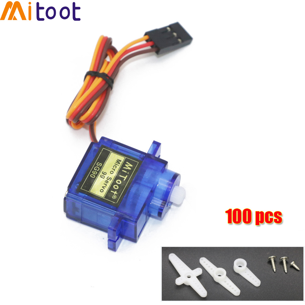 5 / 10 / 20 / 50 / 100 pcs SG90 9G Micro Servo Motor For Robot 6CH RC Helicopter Airplane Controls for Arduino Wholesale