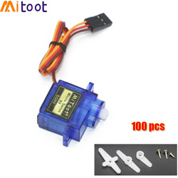 5/10/20/50/100 pcs/lot SG90 9G Micro Servo Motor For Robot 6CH RC Helicopter Airplane Controls for Arduino Wholesale