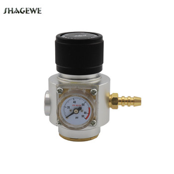 Mini Regulator Thread 0-90 PSI Co2 Charger kit, Release Valve for Sodastream T21*4 Bottle Draft Beer Kegerator Soda