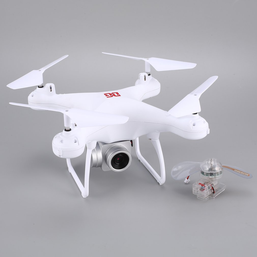 XG183 2.4G RC <font><b>Mini</b></font> <font><b>Drone</b></font> <font><b>FPV</b></font> Quadcopter with 720P HD Camera Real-time Altitude Hold LED Flash Word Programmable Props Hot image