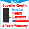 BMT 20pcs Superior Quality 2915mAh Battery for iPhone 6P 6Plus 6+ 6 Plus 100% Cobalt Cell replacement + ILC Technology in 2019