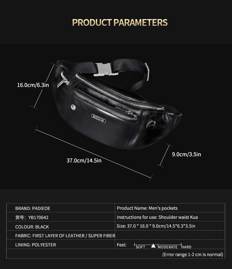 High Quality belt bag