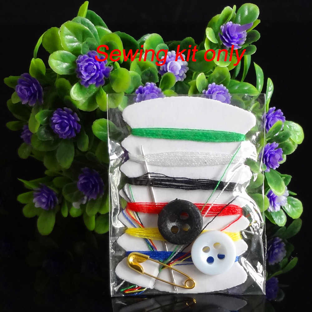ボックス旅行ピンポケットボタン糸ミニ針ステッチ縫製キット