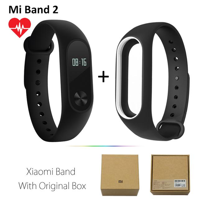 Original Xiaomi Miband2 Monitor Cardiaco Smart Wristband xiomi mi Band 2 1S 1 pulse Activity tracker xaomi miband band2 Bracelet
