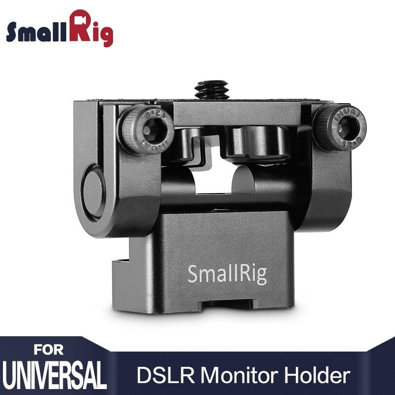 SmallRig Adjustable DSLR Monitor Holder Mount Anti Twist Mini Tilt Pan for Camera Monitor LCD Screen