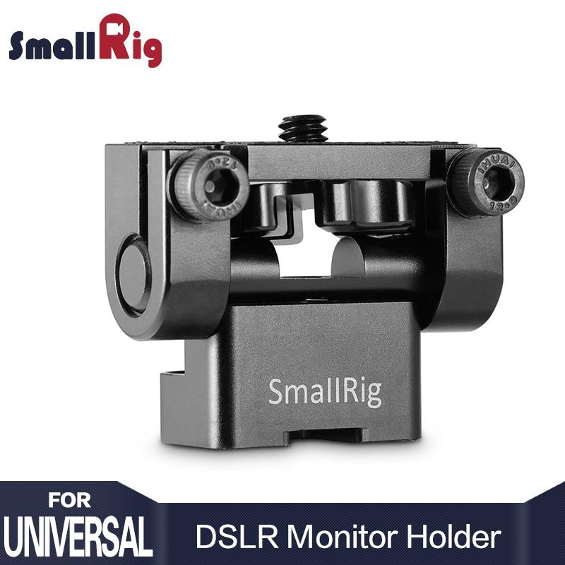 SMALLRIG Monitor Support/Monitor Mount avec Friction de l'axe de Rotation Jsqu'à 180° pour Une Meilleure Monitoring 1842