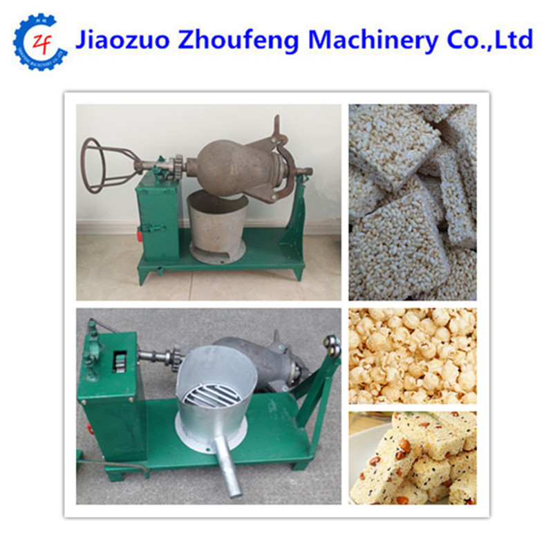 Electric or manual wheat rice bulking machine old-style corn popper maker ep4ce15e22c8 or ep4ce15e22c8n
