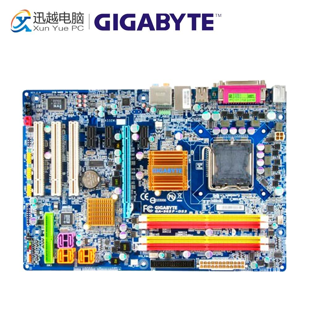 Gigabyte GA-965P-DS3 Desktop Motherboard 965P-DS3 G965 LGA 775 DDR2 ATX весы garin ds3 1cr2032