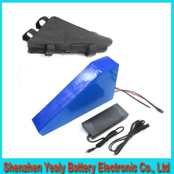 Deep font b cycle b font 51 8v 30ah Lithium Battery Pack Powerful 52v 1500w Triangle