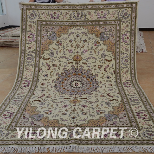 Yilong 6 X9 Oriental Turkish Wool Carpet Exquisite Traditional Chinese Rugs And Carpets