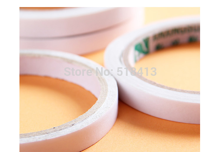 Jigsaw Puzzle Accessories Super Powerful Tape Sticky Glue Non-trace Double-sided Tape Transparent Hands To Roll The Cube