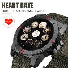 N10B Smart Uhr Outdoor Sport Smartwatch mit Pulsmesser und Kompass Wasserdichte Bluetooth Wach für IOS und Android