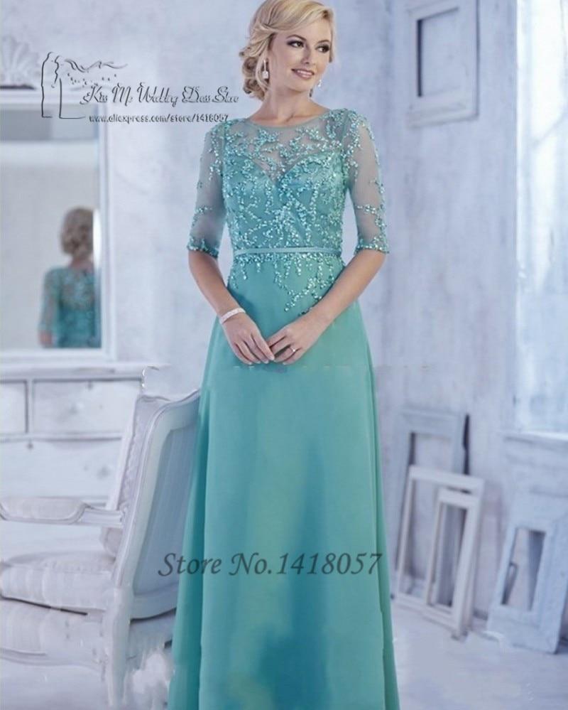 Bonito Tiffany Azul Madre De Los Vestidos De La Novia Composición ...