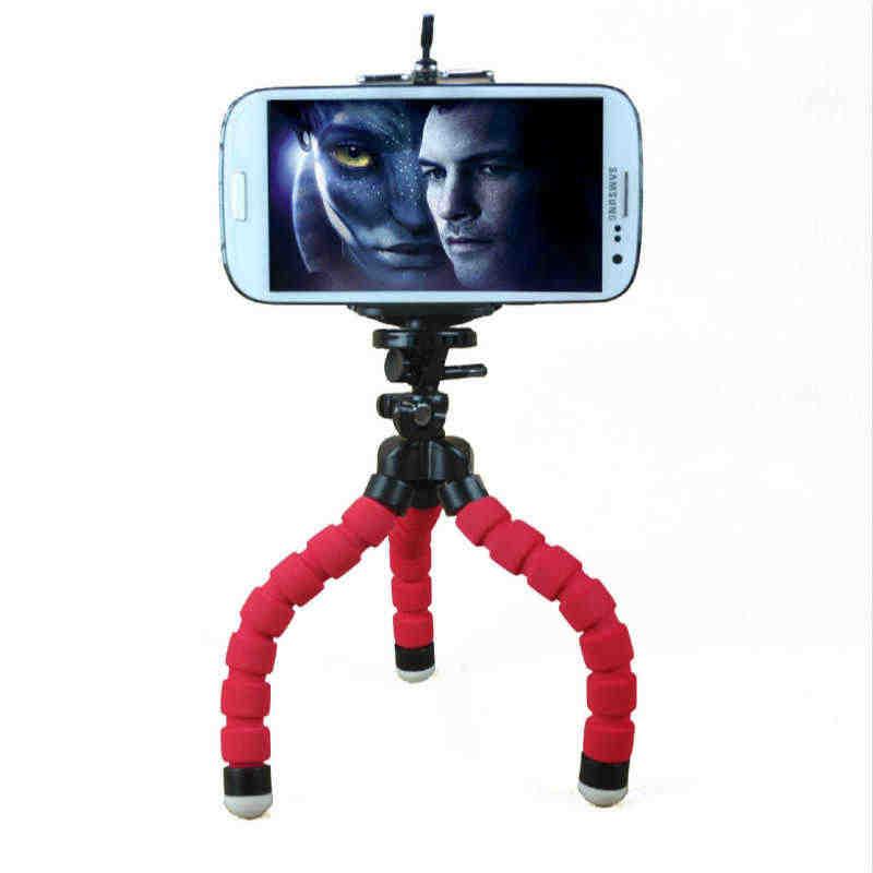 الأخطبوط مرنة ترايبود حامل هاتف المحمول حامل كاميرا ل فون سامسونج البسيطة قوس الصورة التقاط الصور الرياضة زينة